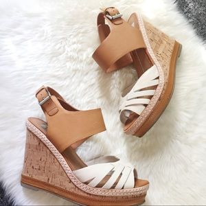 DV Dolce Vita Jaslyn Bone Leather Wedges